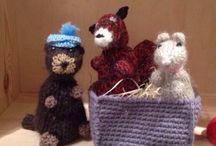 Pupazzi fatti da me / Pupazzi e giochi in lana, fatti a mano.