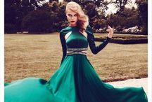 Vêtements au Vert / j'aime vert émeraude
