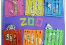 Thema: dierentuin / by Juf Anniek