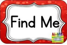 Find Me / Visit me as my name on 'Teachers Pay Teachers,' 'Teachers Notebook,' 'Buy, Sell, Teach, 'my Facebook 'Crayons, Cuties & Common Core' and my Blog 'Crayons & Cuties in Kindergarten!'
