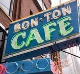 Bon Ton Cafe | Memphis Rehearsal Dinner Location / Bon Ton Cafe is proud to offer elevated diner food in a comfortable, familiar setting. Contact them: 901-544-9103.