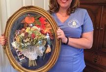 Flowers Forever Inc. - Memphis Wedding Floral Preservation / For over seven years, Flowers Forever's state-of-the-art freeze-drying system has preserved thousands of floral arrangements! They can preserve your bridal bouquet just as it was when you walked down the aisle. They also offer Bridal gown and veil cleaning and preservation. They can place your arrangement in a beautiful display of your choice. Choose from a variety of frames and keepsake boxes of many styles and colors. Contact them: (901) 496-1707
