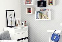 INSPIRATION: Children's rooms / Ideoita värikkäsiin lastenhuoneisiin. / Ideas for colorful children's rooms.
