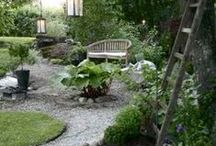 INSPIRATION: Landscaping / Ideoita pihaan ja puutarhaan. / Ideas for yard and garden.