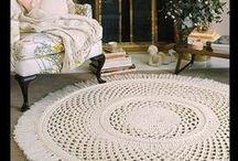 Szydełko - dywany