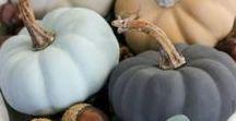 INSPIRATION: Pumpkin decorations / DIY-ideoita kurpitsojen koristeluun ja tuunaukseen. / DIY-ideas for decorating pumpkins.