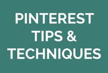 Pinterest Tips & Techniques / How to make Pinterest work for your business.
