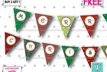 Christmas template / amigurumi christmas, banner, banner clipart, banner template, bunting, bunting clipart, christmas, christmas banner, christmas card, christmas clipart, christmas fabric, christmas light, christmas lot, christmas ornament, christmas pajama, christmas pillow, christmas purse, christmas ribbon, christmas stencil, christmas sticker, christmas stocking, christmas tag, Christmas template, christmasinjuly, flag, flag banner, pennant, pennant banner, pennant. fabric bunting, tartan, vintage christmas / by Last Minute Printables