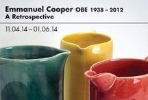 Emmanuel Cooper: A Retrospective (11.04.14 – 01.06.14) / Emmanuel Cooper was a potter of international standing and a loyal CAA member. This celebration looks at the ceramics he created during a long career in which he combined making, writing and teaching.