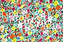 PATTERNS & PRINTS / Beautiful prints and patterns for creative inspiration