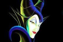 Malefica - Malificent / My bruja favorita de los cuentos de Disney....