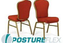 The PostureFlex VBE / Flexback Stackable Banquet Chair by Bertolini Hospitality & Design. / by Bertolini HD