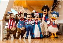 4th of July Disney style! / Red, white, blue and Disney!