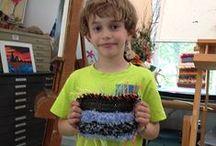 Weaving Art / Woven things we like.