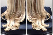 Mermaid Waves Hair Extensions / Hair extension expert: Jennifer Bancheri