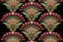 схемы вышивки,  вязания и шитья