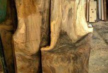 Bois / Wood / Différentes essences de bois utilisées lors de la fabrication chez Maxime Poisson, ébéniste / Different kind of wood used at Maxime Poisson, woodworker
