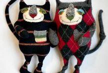 куклики из носков и свитеров