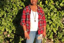 How to style a flannel shirt / How to style a flannel shirt and look cute.