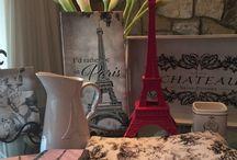 Ideas for planning a Paris theme party / Decorations and ideas for a Paris theme party