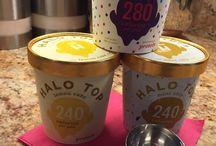 Good low calorie ice cream / Halo Top is good low calorie ice cream.
