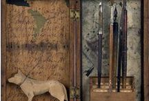 Sculptural Collage / Eclectic assemblage
