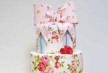 Wedding Cakes / Kue-kue cantik, semoga salah satunya akan ada di hariku :) #nyariinspirasi
