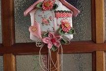 patchwork - diversos com tecidos / artesanato