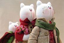Stuffed Animals - handmade toys