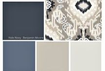 Color Inspiration / Popular color schemes and trends to give you inspiration for any room in your home!