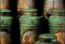 Tins Boxes etc...(Vintage/Old/Antique)