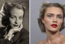 100 Years of Beauty in 1 Minute / 100 Years f Beauty in 1 Minute is a project produced, directed, and edited by: http://www.cut.com.  Time lapse of a model getting her hair and makeup done to match every decade from 1910 to 2010