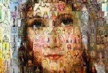 Religious art...holy cards etc