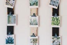 Casa - idee fai da te con foto / qui trovate tante idee fai da te da realizzare con le vostre stampe fotografiche per decorare la vostra casa con i vostri ricordi