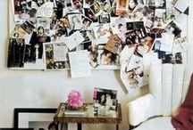 Casa - inspiration board / adoro gli inspiration board o gli mood board - bacheche pinterest analogiche in verità! Qui trovate dei esempi da copiare in un angolo delle casa con le vostre foto e i vostri ricordi!