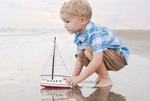 Fotografia - idee per foto di vacanza / Idee per fare belle foto di vacanza dei vostri figli