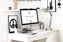 Lavoro - uffici e postazioni di lavoro / Qui trovate idee per rendere bello il vostro ufficio, la scrivania e la postazione di lavoro