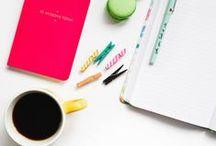 Lavoro - strumenti utili e produttività / Qui trovate idee e strumenti utili per gestire meglio il lavoro - specialmente se siete liberi professionisti o creativi