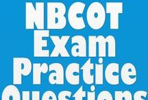 NBCOT Exam / This board is full of awesome #NBCOT #Practice #Exam Questions and resources for you to discuss and pin for studying later. Enjoy!