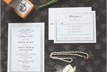 Wedding Invitations | Inspiration / Wedding Invitations | Wedding Invites | Paper Invitations | Calligraphy Wedding | Invitation Suite | Invitation Inspiration | Wedding Photography