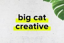 Big Cat Creative   Branding and Website Design / Branding and Website Design for Creative Entrepreneurs and Small Business Owners. Graphics, Design, Graphic Design, Web, Websites, Squarespace, Inspiration, Portfolio, Brand, Branding, Brand Design, Style Board, Blog, Bloggers, Moodboard, Mood Board, Logo, Logos, Concepts, Freelancer, Tips, Ideas, Solopreneur, Entrepreneur, GirlBoss, Biz, Ladyboss, Creative, Creativepreneur, Boutique