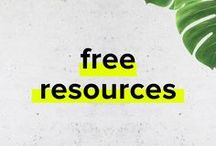 Freebies / Free Resources   Free Designs   Free Patterns   Free Textures   Free Business Tutorials   Video Tutorials   Design Freeibies   Free Printables