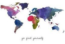 Around the world / Wanderlust (: