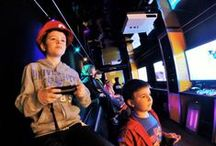 """Steel City Gamerz Pittsburgh's Best Mobile Game Truck Party / Coming in July! Packages include: Up to 30 invitations, A Game Coach to assist with your party. - FREE use of our entire video game library during your party! - FREE use of Five Xbox 360 systems, Two Wii U systems, Three Wii's, one PlayStation 3 and five 50+"""" Sony wide screen TVs during your party.  For more information about our AMAZING Mobile Game Truck Party visit www.steelcitygamerz.com"""