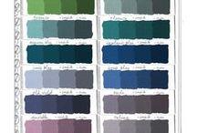 Anne Sloan Chalk Paint -Colours / by Maria Przednowek Broker with Realty Place Inc., brokerage