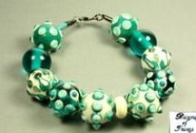 Glass Beads and other / Hand made reproduction of archaeological glass beads by Biography of Things