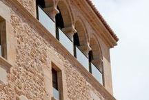 """Exteriores -Palacio Allepuz **** / Hospedería Palacio de Allepuz ****, Maestrazgo de Teruel. Your palace in the """"Maestrazgo"""" Teruel... http://www.hospederiaallepuz.es/reserva/"""