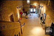 """Interiores -Palacio Allepuz **** / Hospedería Palacio de Allepuz ****, Maestrazgo de Teruel. Your palace in the """"Maestrazgo"""" Teruel... http://www.hospederiaallepuz.es/reserva/"""