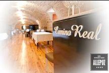 "Restaurante -Palacio Allepuz **** / #PalacioAllepuz ****, Maestrazgo de Teruel. Your palace in the ""Maestrazgo"" Teruel... http://www.hospederiaallepuz.es/reserva/"
