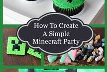 Minecraft Birthday Party Idea / www.steelcitygamerz.com